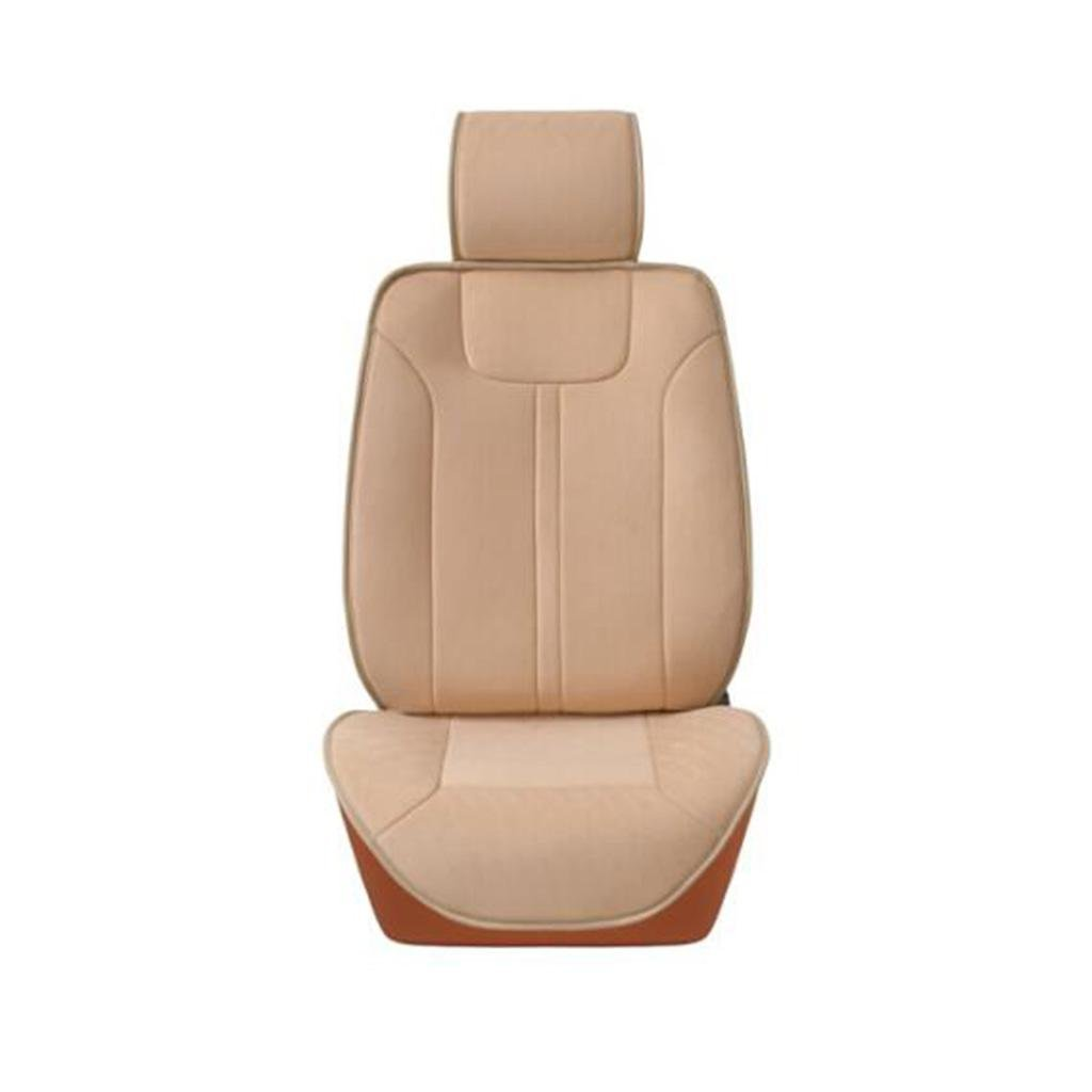 X&Y Car Heating Seat Cushion 12V Car Use Heating Pad Electric Bed Single Seat Beige
