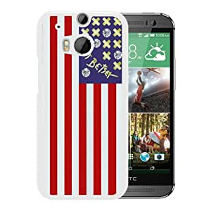HTC ONE M8 Betsey Johnson 02 White Screen Phone Case Melting and Sweet Style