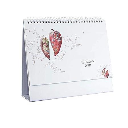 DEI QI 2019 años Calendarios de Mesa Escritorio Calendario Office ...