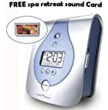 Sound Oasis Natural Sounds Therapy System and Alarm Clock With FREE Spa Retreat