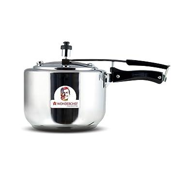 6a510dd24 Buy Wonderchef Secura Stainless Steel Pressure Cooker