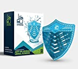 Strong Janitorial Urinal Screens and Deodorizer-12 Pack Shield Anti-Splash Disposable Scented Urinal Mats-1 Year Supply