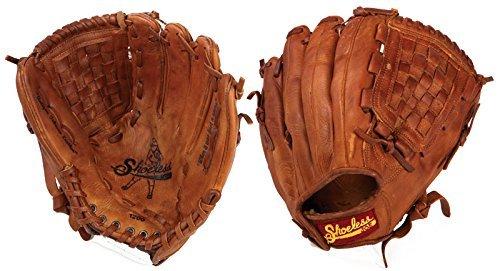 Shoeless Joe Gloves Basket Weave Pocket Brown Glove, 12-Inch, Right Handed Ball Soft Brown Gloves