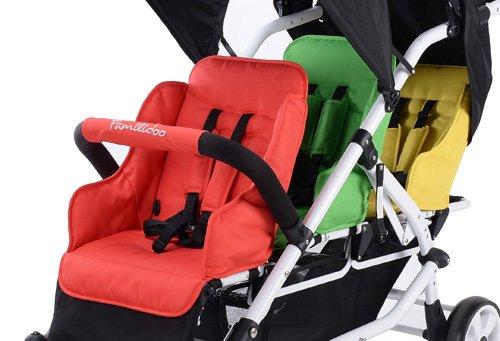 familidoo ligero cochecito - 3 plazas: Amazon.es: Bebé