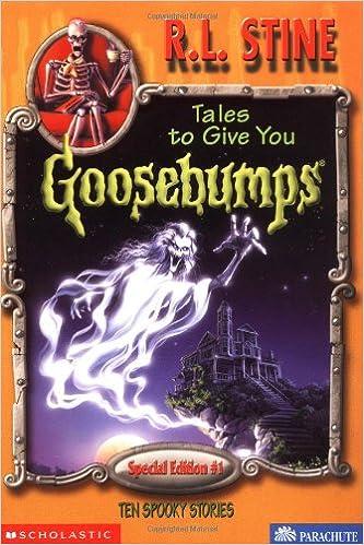 Goosebumps special edition book series.