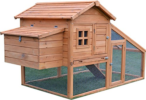 Feel Good UK CHICKEN COOP HEN HOUSE POULTRY ARK HOME NEST RUN COUP WITH...