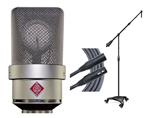 Neumann TLM 103 Nickel Condenser Microphone + Ultimate Stand + Mogami Cable ()
