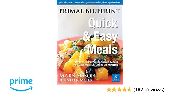 Primal blueprint quick and easy meals delicious primal approved primal blueprint quick and easy meals delicious primal approved meals you can make in under 30 minutes primal blueprint series jennifer meier malvernweather Image collections