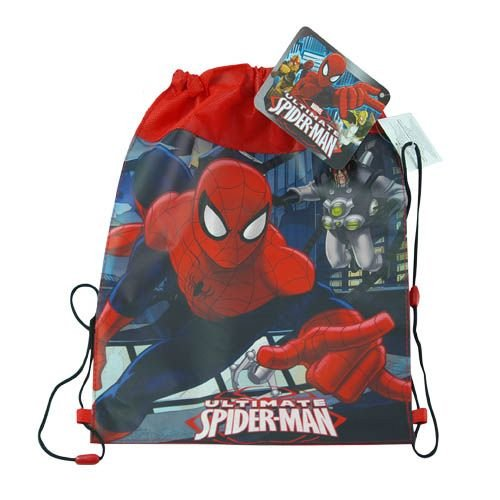 12-Pack Ultimate Spider-Man Non-Woven Sling Bags