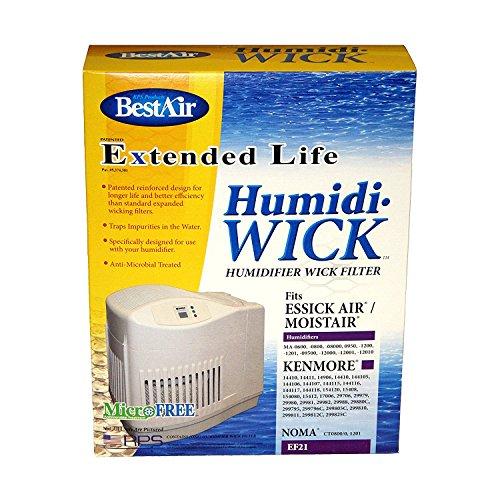 BestAir EF21 (Kenmore 14906 / Emerson MAF1) Humidi-Wick Filters - 10 Pack