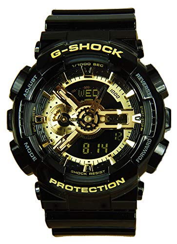 G-Shock  Men's X-Large Combi GA110 Black/Gold One Size by Casio