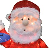 """ProductWorks 16366 42"""" Rudolph Santa and Misfit"""