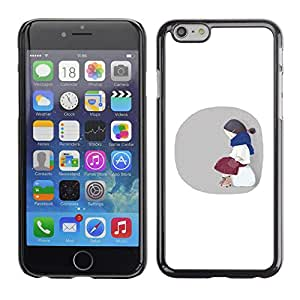 Stuss Case / Funda Carcasa protectora - Innocent Little Girl Waiting - iPhone 6