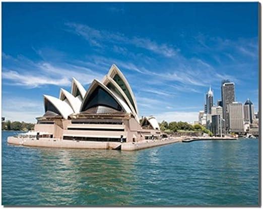 Sydney opera house Canvas Wall Art prints high quality