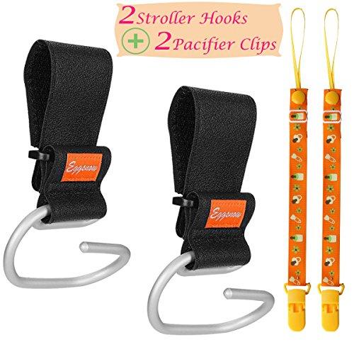Eggsnow Adjustable Universal Strollers Aluminum Black product image