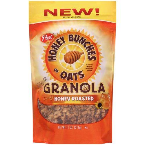Roasted Granola (Honey Bunches of Oats Granola Crunchy Honey Roasted 11 oz. (2 pack))