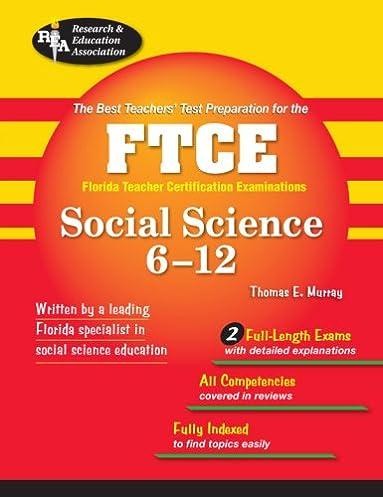 ftce social science 6 12 ftce teacher certification test prep rh amazon com Science Quotes Science Quotes