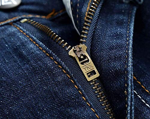 In Jeans Uomo Bassa Vita Da Aderenti Denim Pantaloni Blu Micro Ragazzi Cinturino Slim Senza Classiche A wxwf14a