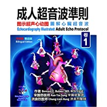 Adult Echo Protocol: Combined Simplified & Traditional Chinese-English Edition (Echocardiography Illustrated Book 1)
