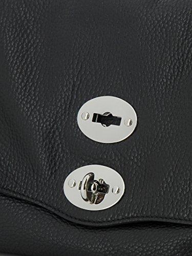 Noir Main pour Noir à Zanellato Sac Noir Unique Femme Taille XqT7p
