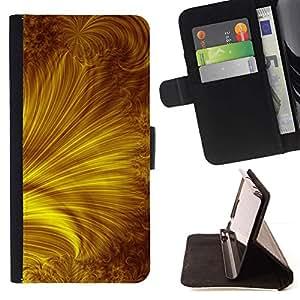 Oro Amarillo Rays Resumen- Modelo colorido cuero de la carpeta del tirón del caso cubierta piel Holster Funda protecció Para Apple (5.5 inches!!!) iPhone 6+ Plus / 6S+ Plus