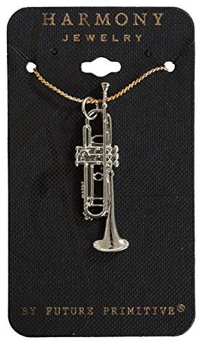 Trumpet Necklace - Silver