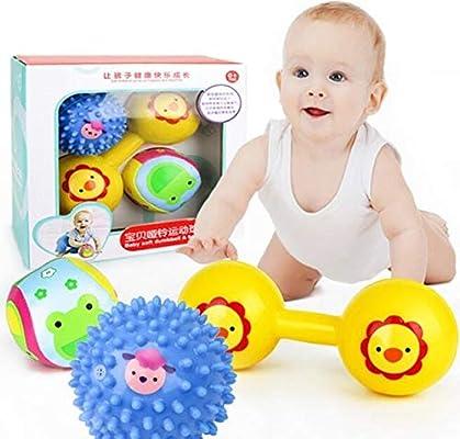 XuBa Pelota de Mano para bebé, Juguete de Bola sonajero para bebé ...