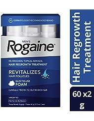 Men's Rogaine Hair Loss & Hair Thinning Treatment Minoxidil...