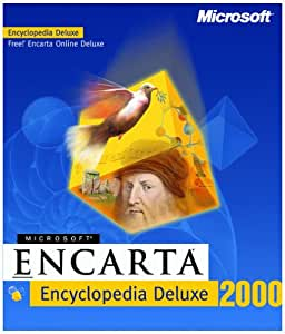 Microsoft Encarta Encyclopedia Deluxe 2000 [OLD VERSION]
