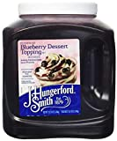 J Hungerford Smith Blueberry Dessert Topping, 122