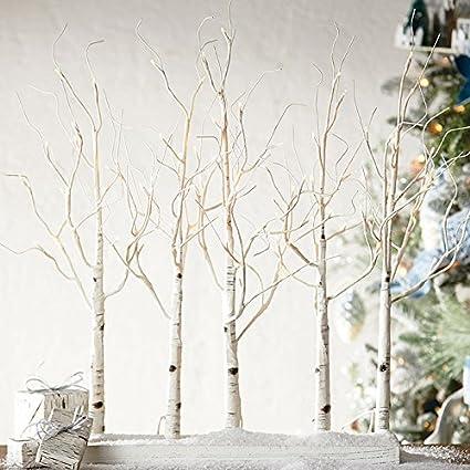 pretty nice 0af14 109ab Amazon.com: Raz 30 Inch Lighted Birch Grove NEW with Twinkle ...
