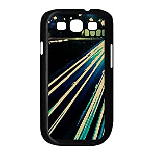 Car Lights Watercolor style Cover Samsung Galaxy S3 I9300 Case