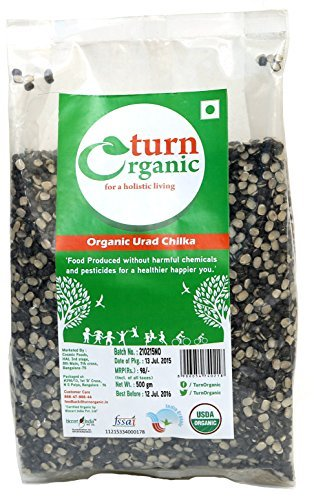 Turn Organic Urad Chilka-500g by Turn Organic