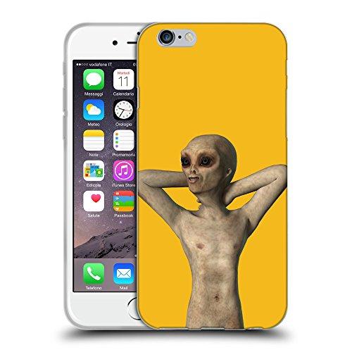 GoGoMobile Coque de Protection TPU Silicone Case pour // Q05520602 Étranger debout Ambra // Apple iPhone 7