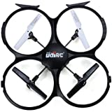 UDI Axis Gyro 2.4GHz RC Quadcopter with Camera RTF Mode 2, Black