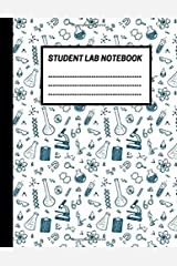 Student Lab Notebook: Life Sciences Student Lab notebook, 1/4 inch square grid Lab journal Log book for Science/Research students (8.5 x 11'', 150 pages) Paperback