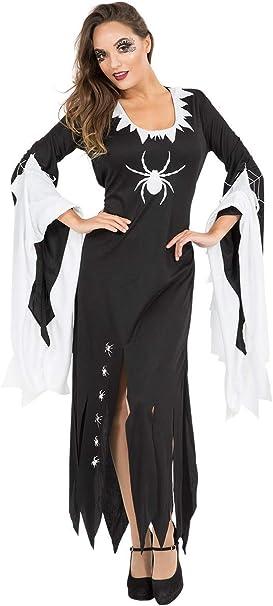 ORION COSTUMES Disfraz de Hechicera Malvada Bruja Negra ...