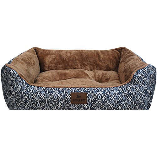 Stuft Urban Lounger Pet Bed, Large, Blue