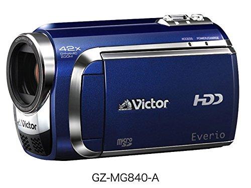 JVCケンウッド ビクター 60GBハードディスクムービー ロイヤルブルー GZ-MG840-A