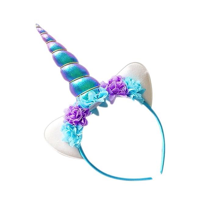 Blue Vessel Die Neue Halloween-Party Einhorn Einhorn Haarbänder ...