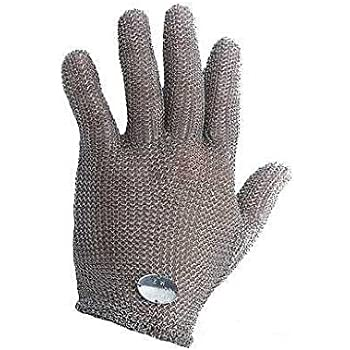 Stainless Steel Mesh Hand Glove - Cut Resistant (L)