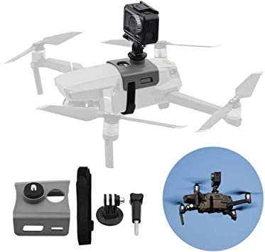 360 Degree VR Panorama Action Multifunctional Fixed Camera Holder Stabilizer Expansion Kit with 1//4 Hole for DJI Mavic Pro Drone Bracket Top Video Mount Accessories Spare Parts CR1010 for 2 Pro