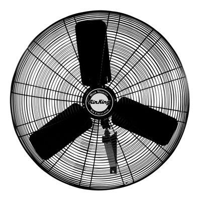 Air King 9025 24-Inch Industrial Grade Oscillating Wall Mount Fan