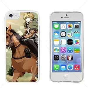 Shingeki no Kyojin Attack on Titan Manga Anime Comic Apple iphone 5s C Transparent Gel TPU Case Cover