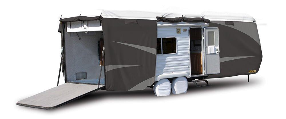 ADCO 34872 Designer Series Gray//White 20 1-24 DuPont Tyvek Toyhauler Trailer Cover