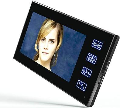 Electric Strike Lock Smart Home Control  Video Door Phone Intercom System Kit