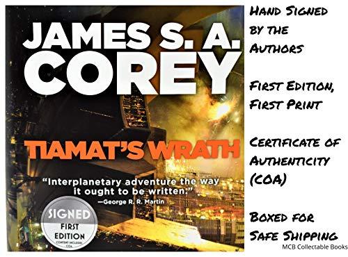 (Tiamat's Wrath (The Expanse) AUTOGRAPHED James SA Corey (SIGNED BOOK) COA 5241)
