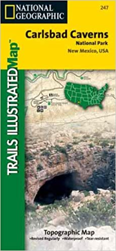 National Geographic, Trails Illustrated, Carlsbad Caverns ...