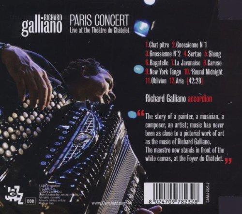 Paris Concert- Live At The Theatre Du Chatelet