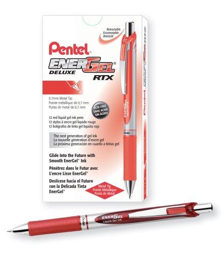 Pentel EnerGel Deluxe Medium BL77 B